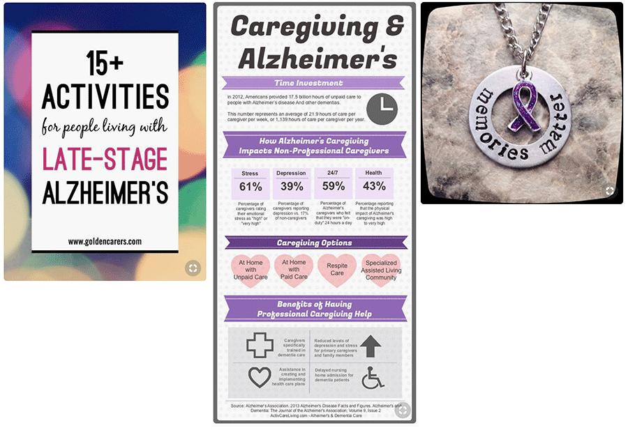 Alzheimers Pinterest Pins