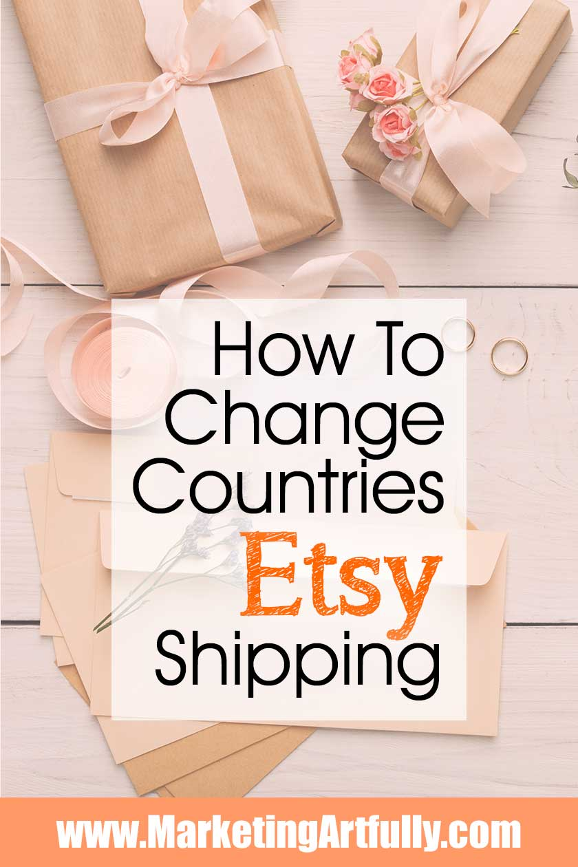 How To Change The Countries You Will Ship To In Etsy | Etsy Shipping Tips