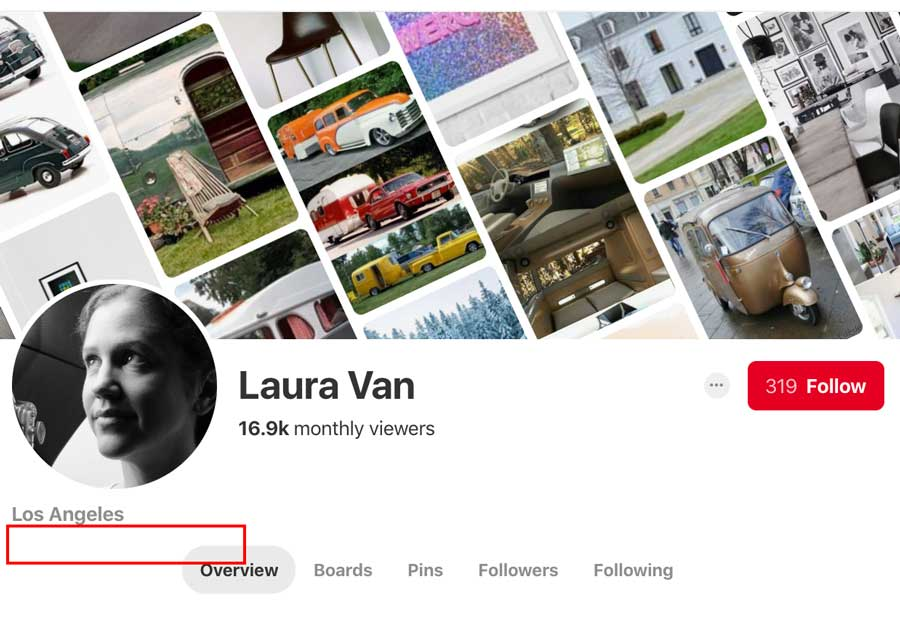 Laura Van Pinterest Profile