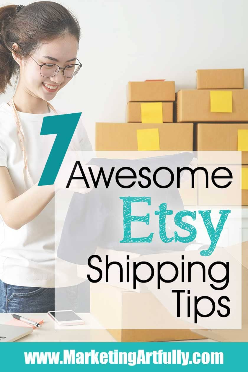 7 Of My Best Etsy Shipping Tips!