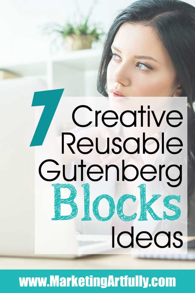 7 Creative Gutenberg Reusable Blocks Ideas