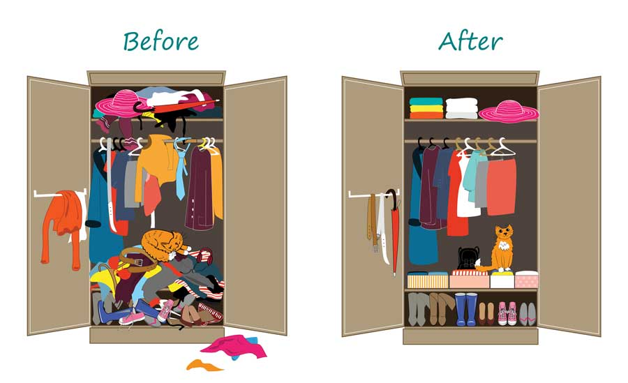 Organizer marketing tips and ideas... make sure to show before and afters!