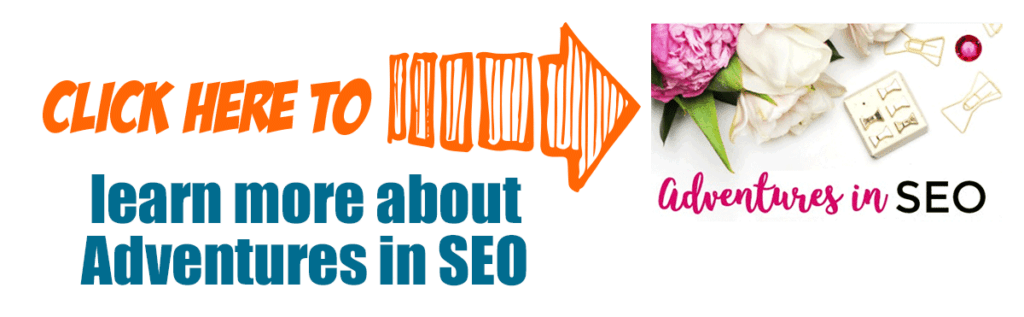 Click here to learn about Adventures in SEO