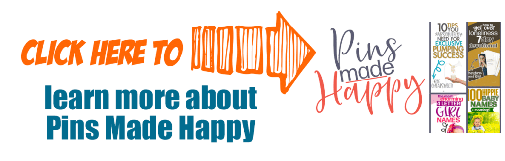 click here to learn more about Pins Made Happy