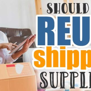 Should You Reuse Shipping Supplies?