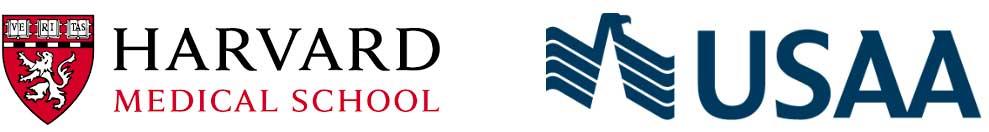 Trustworthy Fonts - Harvard and USAA Logos