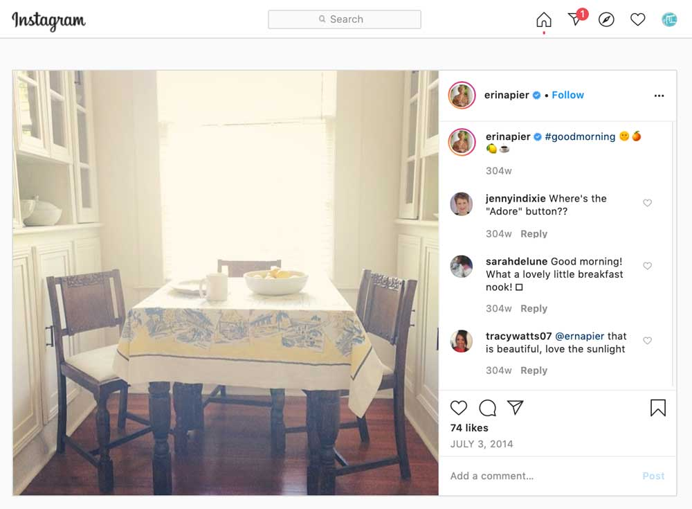 Erin Napier Instagram