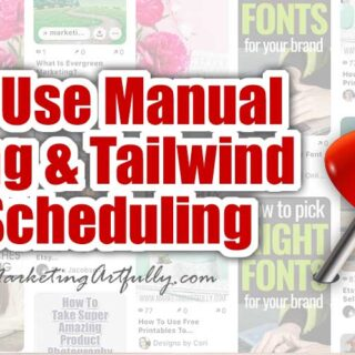 How I Use Manual Pinning AND Tailwind For Scheduling