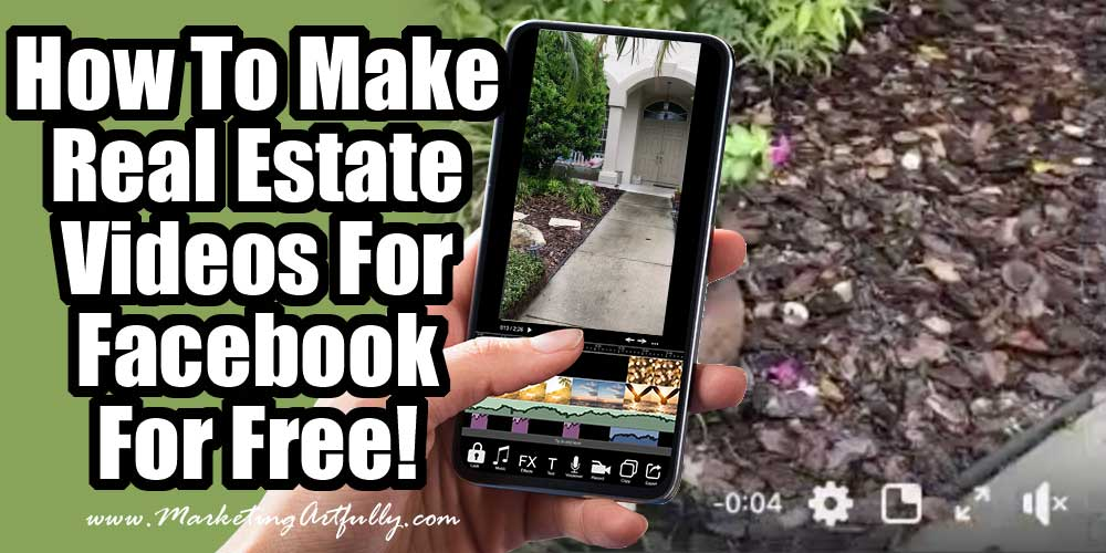 How To Make SUPER EASY Real Estate Agent Videos For Facebook!